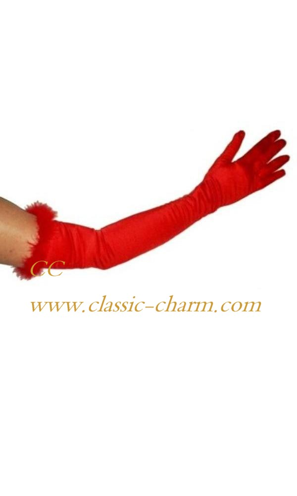 Satin-gloves